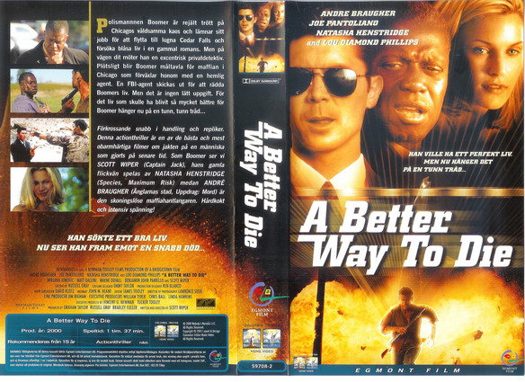 A BETTER WAY TO DIE (VHS)