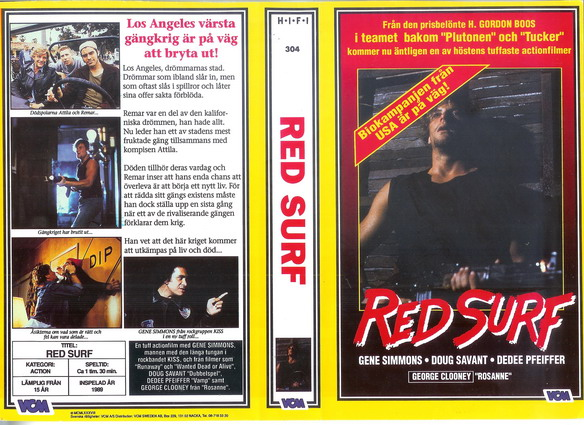 304 Red Surf (VHS)
