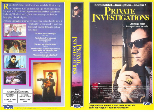 144 Private Investigations (VHS)