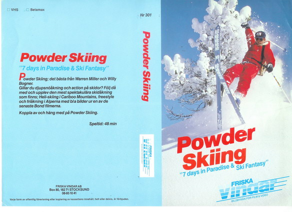 POWER SKIING