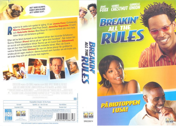BREAKIN' ALL THE RULES (VHS)