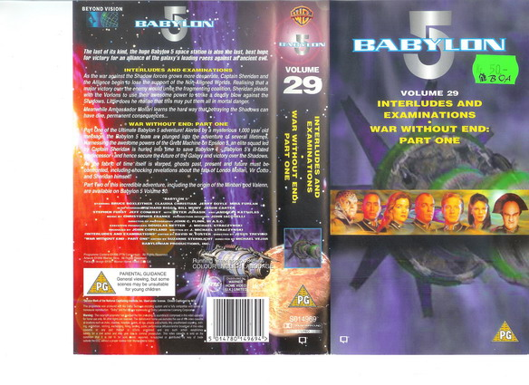 BABYLON 5 Vol 29 (VHS)
