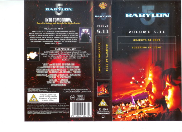 BABYLON 5 Vol 5.11 (VHS)