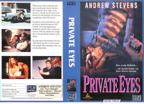 443 PRIVATE EYES (vhs)