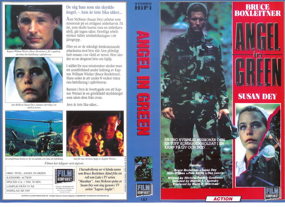 187 ANGEL IN GREEN (vhs)