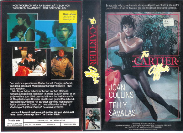 CARTIER AFFAIR (VHS)