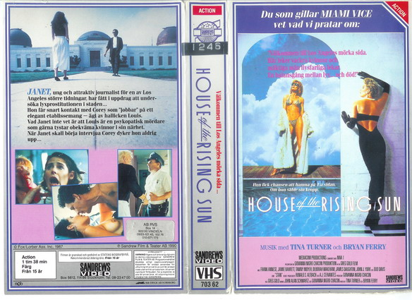 HOUSE OF THE RISING SUN (vhs)
