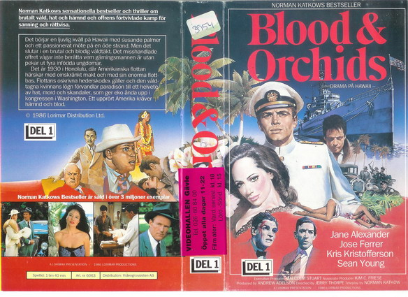 6063 BLOOD & ORCHIDS DEL 1 (VHS)
