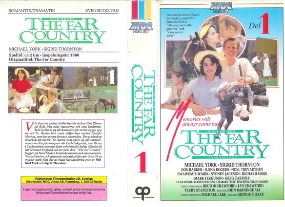 FAR COUNTRY DEL 1  (VHS)