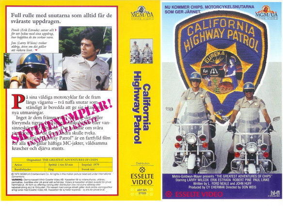 27026 CALIFORNIA HIGHWAY PATROL (VHS)