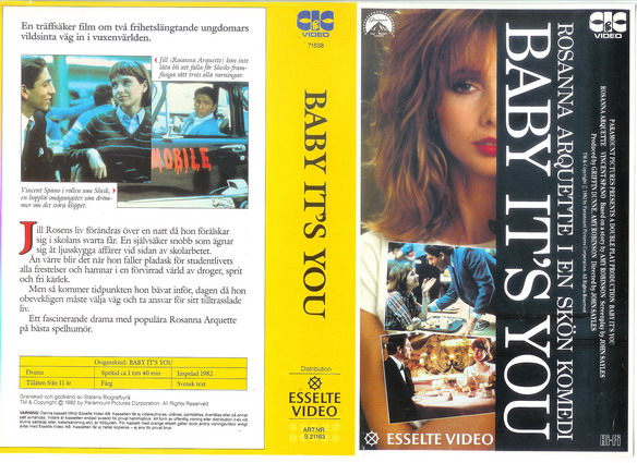 21163 BABY IT'S YOU (vhs)
