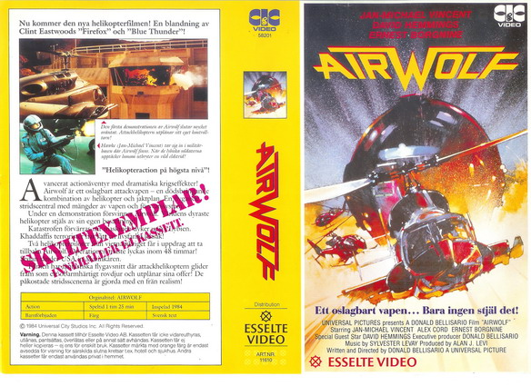 11610 AIRWOLF (VHS)