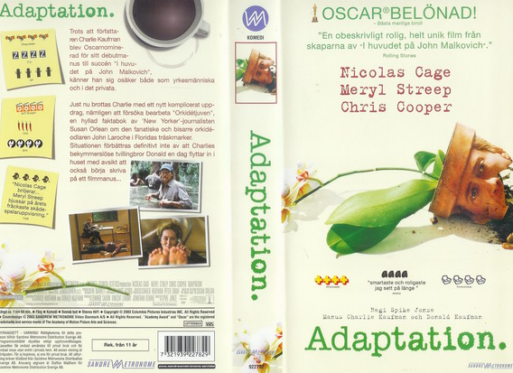 ADAPTATION (VHS)