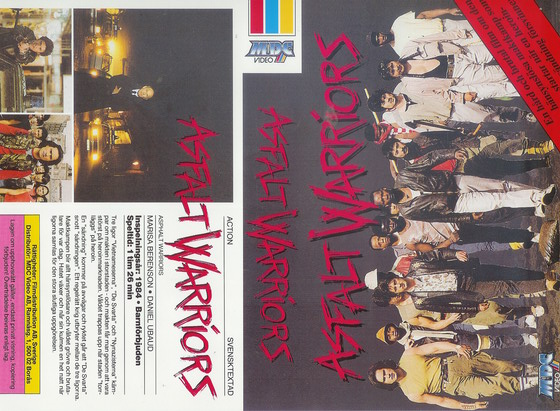 ASFALT WARRIORS  (VHS)