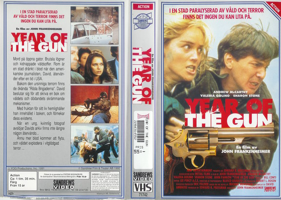 YEAR OF THE GUN (VHS)