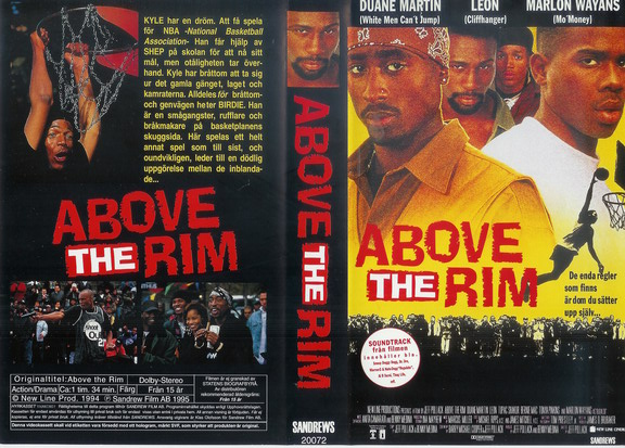 ABOVE THE RIM (VHS)