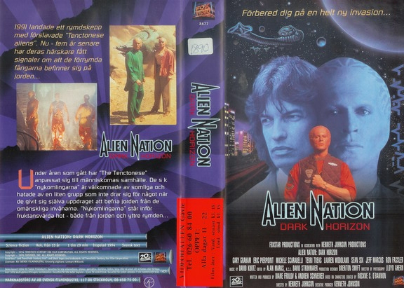 ALIEN NATION - DARK HORIZON (VHS)