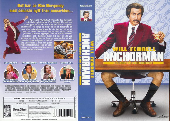 ANCHORMAN (VHS)