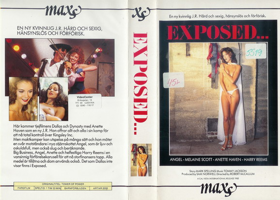 2008 EXPOSED (vhs)