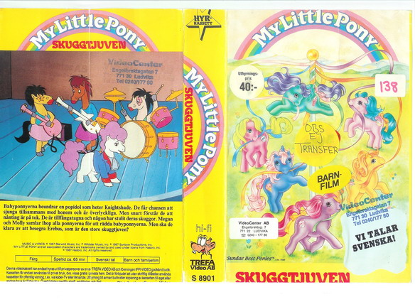 MY LITTLE PONY SKUGGTJUVEN