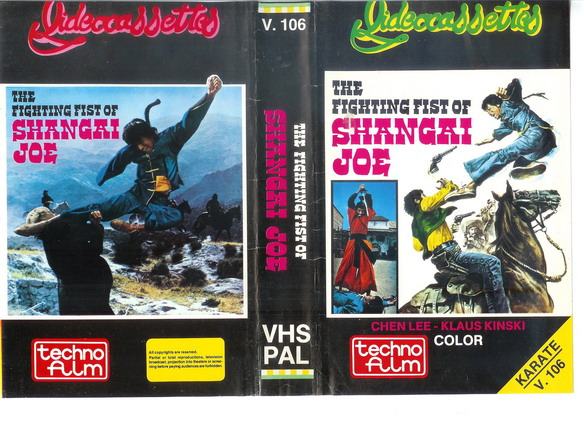 V.106 THE FIGHTING FIST OF SHANGAI JOE (VHS)