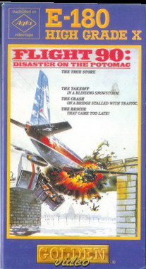 FLIGHT 90 (vhs) pappask