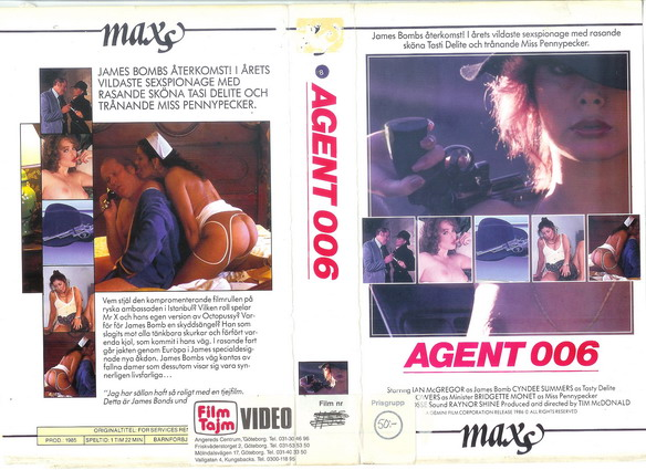2202 AGENT 006 (vhs)