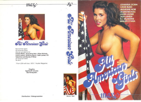 1501 ALL AMERICAN GIRLS (VHS)