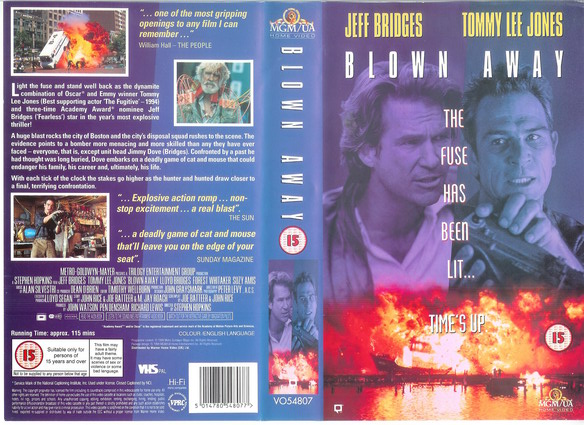 BLOWN AWAY - UK (VHS)