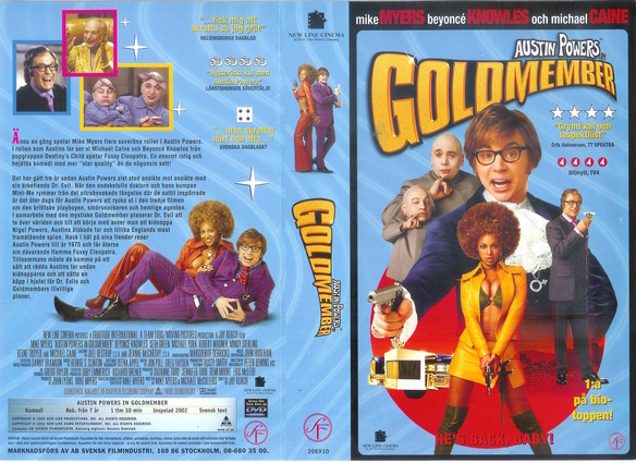 AUSTIN POWERS GOLDMEMBER (VHS)