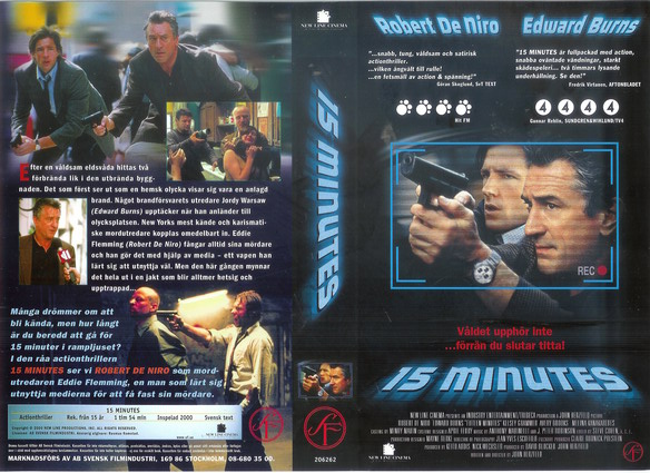 15 MINUTES (VHS)