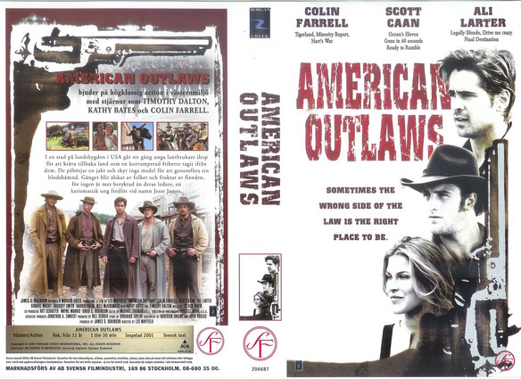 AMERICAN OUTLAWS (VHS)