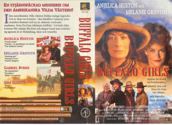 BUFFALO GIRLS (VHS)