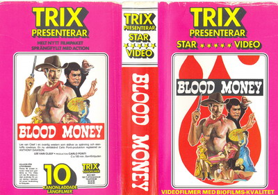 BLOOD MONEY  (VHS)