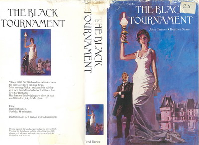 BLACK TOURNAMENT (VHS) laminerat omslag